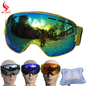 Skiing Goggles Ski Glasses Snowboard Winter Brand Anti Fog UV400 Benice Double Layers