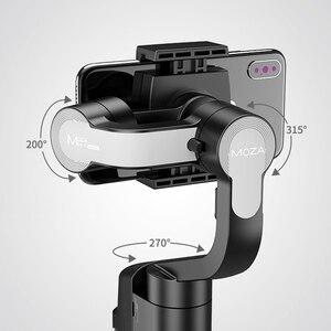 Image 2 - Original MOZA Capture 3 Axis Handheld Gimbal Stabilizer For Smartphone mobile phone iphone GoPro Sjcam EKEN Yi Action camera