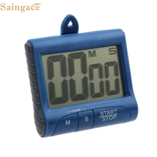 Saingace Gifts High Quality Accurate Four Colors Magnet Digital Kitchen Count Down Counter Timer Beeping Alarm Clock