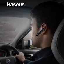 Baseus A01 Беспроводной Bluetooth наушники мини Портативный Бизнес наушники С микрофоном для samsung iPhone для вождения Fone де Ouvid