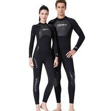 Мужской/wo Мужской 3 мм Неопреновый для дайвинга гидрокостюм для плавания и серфинга мужской костюм для подводного плавания