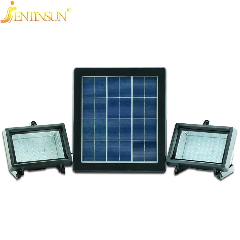 Are solar flood lights bright : Outdoor led w solar light lamp waterproof