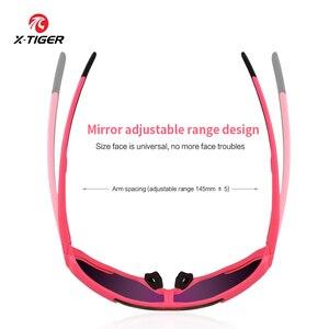 Image 4 - X TIGER Vrouwen Gepolariseerde Zonnebril Fietsen Mtb Fiets Eyewear Ciclismo Fietsen Bril Mountain Racing Bike Goggles