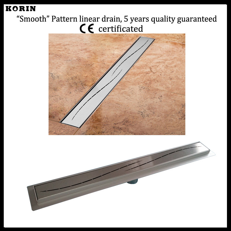 600mm Slim Style Stainless Steel 304 Linear Shower Drain, Vertical Shower Drain with flange, Downside outlet Shower Channel korean brand design pu leather solid hasp envelope day evening clutch wallets 16 card bags long wallet for women ladies purse