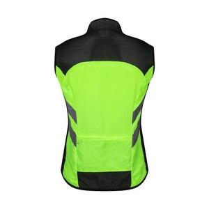 Image 5 - WOSAWE גבוהה נראות MOTO מעיל רעיוני אפוד מוטוקרוס מירוץ אפוד לילה רכיבה ריצה מעיל אופנוע בטיחות בגדים