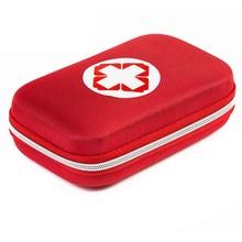 Прямоугольник Медицинской Комплект Красный Медицины Сумка Для Хранения Путешествия Хранения Лекарств Коробки Лекарства Случае Организатор Главная Хранения сумки