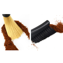 Removable Double Head Coffee Brush Grinder Machine Cleaning Dusting Espresso Powder