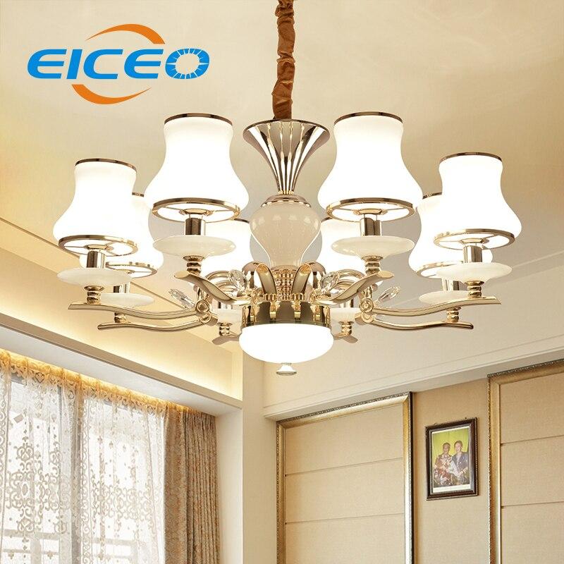 (EICEO) Křišťálový droplight v evropském stylu, lampičky, obývací pokoj, ložnice, osvětlení, obývací pokoj, ložnice, závěsné světlo