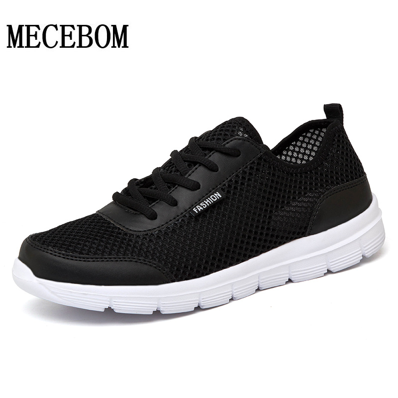 Men's Casual Shoes New Summer Mesh Breathable Comfortable Men Shoes lace-up footwears Plus Size 35-48 1607m akexiya women shoes for summer casual shoes lace up breathable mesh shoes unisex light platform flats 3 colors size plus 35 46