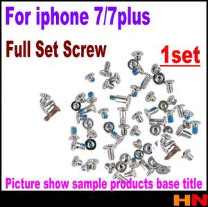 Screw-Set Bottom-Replacement Complete iPhone 7 1set with for 7-Plus-Accessories High-Quality