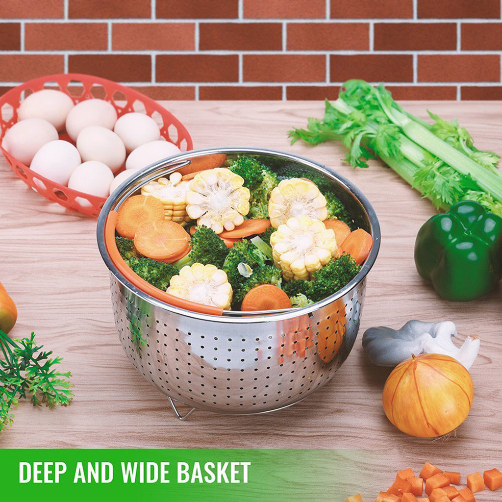 Best Selling 2019 Products Household Steamer Basket For 6 Quart