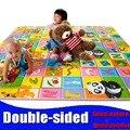 Детские игрушки двойной сталкиваются пены Играть Мат, безопасности + Тренажерный Зал коврик для Детей Пикник Ковер, Thickness0.5cm