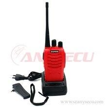 Newest Arrival red BAOFENG walkie talkie BF-888S UHF 70CM 400-470mhz handheld radio interphone