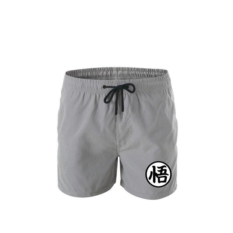 New Dragon Ball Print Swimwear Swim Shorts Swimwear Beach Board Swim Short Sweat Pants Swimsuit Men's Running Men's Shorts