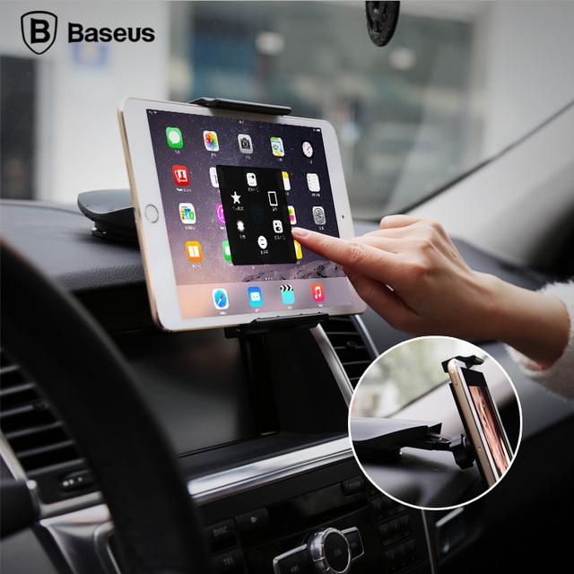 Baseus parabrisas universal de 360 grados de rotación de la tableta sostenedor del montaje del soporte para la tableta del coche soporte del teléfono