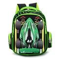 3D Cartoon School bags For Boys Car Ultralight Kindergarten Backpack Child Kids School bag Girls Satchel mochila