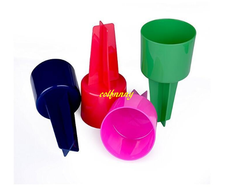 100pcs lot Fast shipping 20 10 5cm Beach Spike Sand Spiker Sand Cup Beach Cup Holder