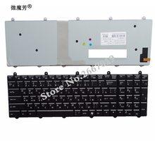 RU Backlight black New FOR MSI GT60 GT70 GT780 MS 16GA MS 1762 GE60 GE70 GX60