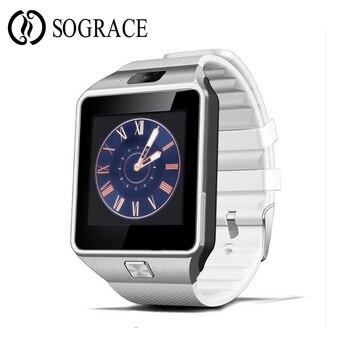 83311186ff63 DZ09 Smartwatch hombres Reloj inteligente Bluetooth Reloj 2G GSM SIM App  sincronización Mp3 para Xiaomi Android teléfonos Reloj PK Y1 KW18