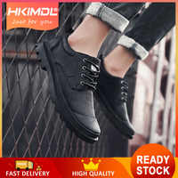 HKIMDL 2019 New Fashion Men Shoes Plus Velvet Casual Shoes Big Size 38 46 Light Comfort Light Men Flats
