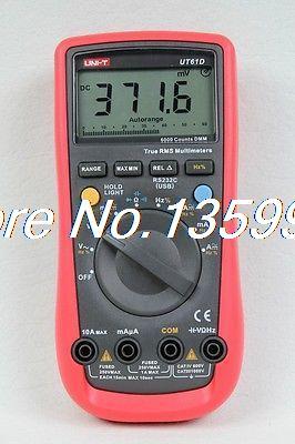 Фотография 1x UNI-T UT61D LCD Digital Multitester AC DC volt ampere ohm tester multimeter