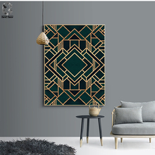 Classic Cube Geometric Canvas Painting Wall Art Posters and Prints Nordic Marble Picture for Living Room Home Decor