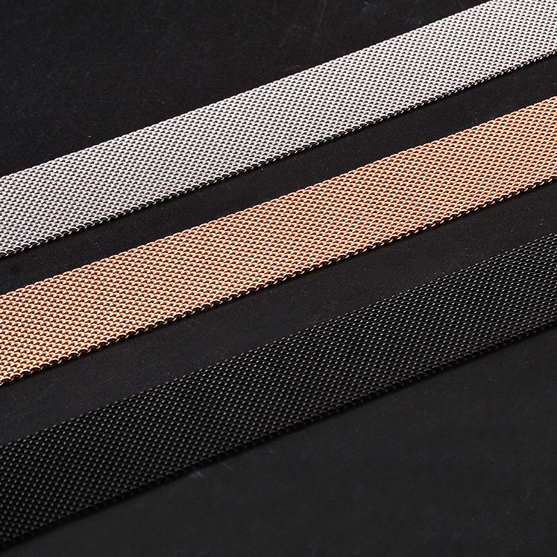Metal Milanese Loop Band for Xiaomi Huami AMAZFIT Bip strap 20MM 22MM wrist band belt for Samsung Gear S3 Classic Frontier Strap (2)