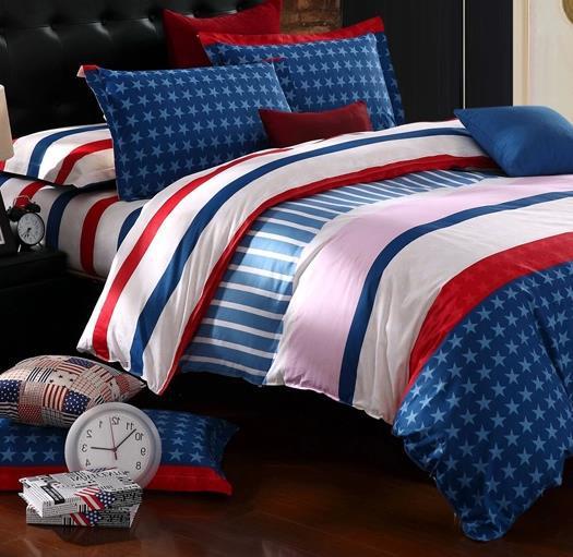 S V Big Discount 100 Cotton Bedding Sets Fashion Stripe