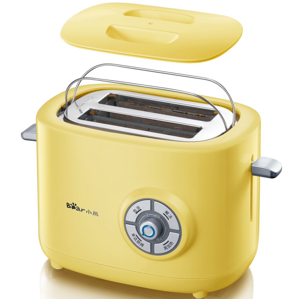 Bear 6 Professional Temperature Control Toaster Bread Household Automatic Breakfast Toast cukyi 2 slices bread toaster household automatic toaster breakfast spit driver breakfast machine