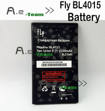 Fly BL4015 Battery NEW High Quality Replacement 2500mAh Batterie For Fly IQ440 Smartphone Tracking Number
