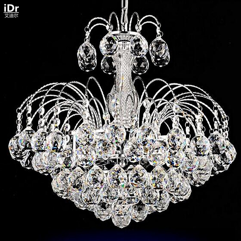 Simple and modern restaurant led crystal lamp restaurant bedroom hallway lighting with crystal Chandeliers Rmy-0207