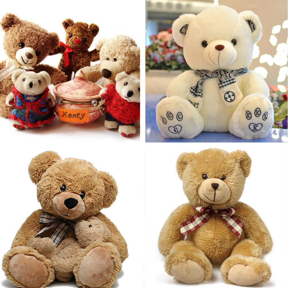 20Pcs/Set Round Plastic Clear Teddy Bear Toys Safety Eyes Animal Puppet Crafts