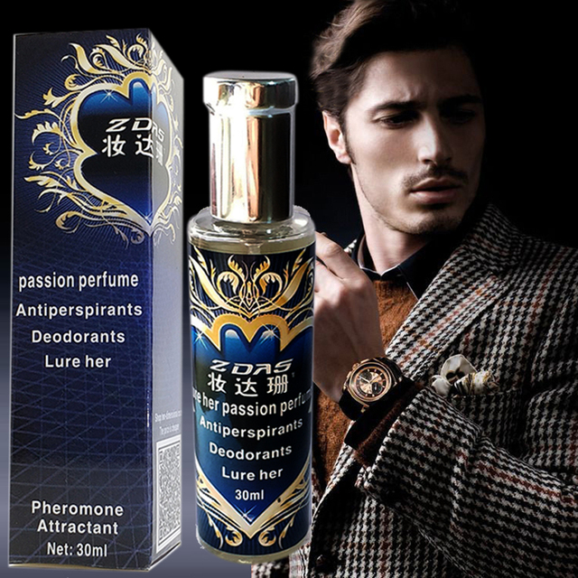 aphrodisiac perfum with pheromones Fragrances for men attract the opposite sex parfum deodorants Antiperspirants Oil 30ml