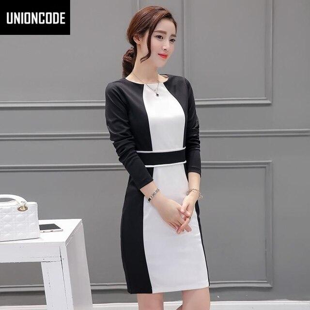 Look vestido negro con blanco