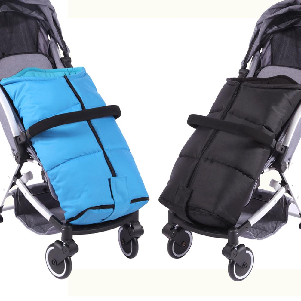 Baby Stroller Cushion High Chair Seat Pad Cotton Pad for Car Seat /& Stroller Warm Cotton Thickened Anti-Humpback Winter Windproof Hood Four Seasons Universal Cushion with Foot Cover