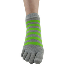 MUQGEW 2017 Fashion Men s Breathable Ventilation Five Finger Socks Toe Socks Casual Combed Cotton Socks