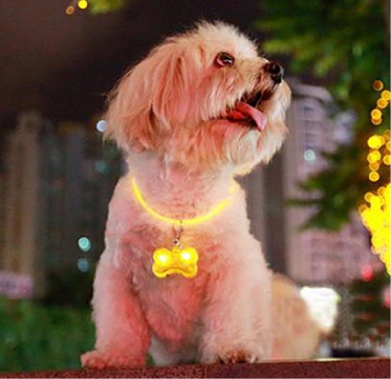 Productos de Seguridad para mascotas LED Luz Colgante Adornos En El Dark Light-U