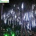 LemonBest 30 CM chuva de Meteoros Chuva Tubo Guirlande Levou Festão Luzes Ao Ar Livre Guirlanda Árvore de Natal Fada Decoração Do Casamento