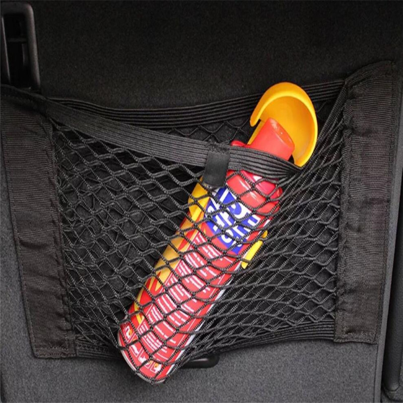 Car Trunk Nylon Rope Net luggage net For Audi Q3 Q5 SQ5 Q7 A1 A3 A4 A4L A5 A6 A6L A7 A8 S5 S6 S7 TT TTS Any Cars
