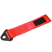 цена на High Strength Nylon Vehicle Auto Racing Strap Red Recovery Hook Tow Towing Strap Rope High Quality Bumper Trailer