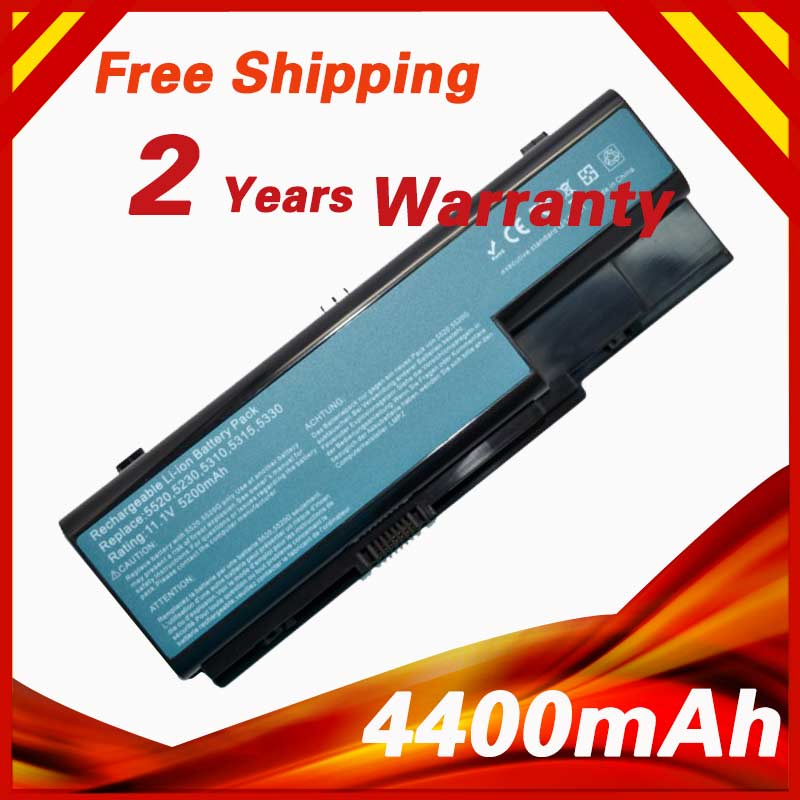 6 cells Laptop Battery for Acer Aspire 5720 5730 5739 5910g 5920 5930G 5935 5942 6530 6920 6930 7220 AS07B31 AS07B41 AS07B71 golooloo 14 8v battery for acer aspire 5920g 5520g 5315 as07b31 as07b32 as07b42 as07b41 as07b51 as07b52 as07b61 as07b71 as07b72