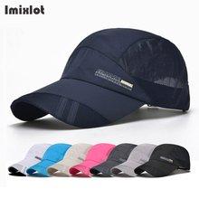 Imixlot 8 цветов Лето для мужчин женщин Дальнобойщик Snapback кепки мальчик обувь для девочек сетки Спортивная шляпа Хип Хоп Кепка Дрейка дышащи(China)