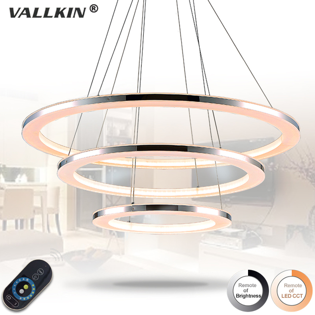 Runde Ring Acryl Dimmbare Pendelleuchten LED Lampen Leuchten mit ...