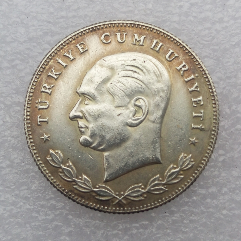 Turkey 100 Kurus 1934 Superb copy coin High Quality