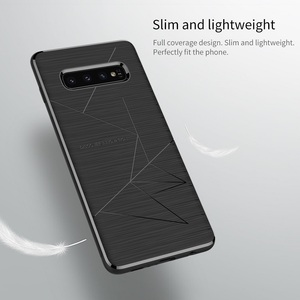 Image 4 - NILLKIN Magnetic Qi Wireless Charger Charging Receiver case for Samsung Galaxy S10 Case Cover 6.1 For Samsung S10 Plus Case 6.4