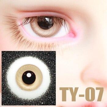 1/3 1/4 1/6 BJD sd-глазки 14 мм 16 мм стеклянные Глазные яблоки Аврора для куклы BJD кукла дяди SD DD кукла Ручная работа стеклянные аксессуары TY-07