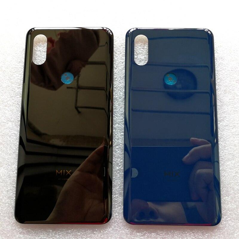 Céramique d'origine pour Mix 3 boîtier de couverture de batterie pièces de rechange pour Xiaomi Mix 3 batterie couverture arrière boîtier de téléphone de porte