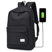 Fashion Canvas Men Backpack Large Capacity Backpack School Bags Teenagers Laptop Backpack USB Charging Rucksack Male Mochila bag muzee canvas male backpack high capacity travel bag 15 6 inch laptop backpack men school bag rucksack mochila drop shipping