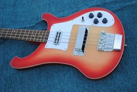 2018 new + factory + 4 strings Rickenback 4003 fireglo electric bass transparent Cherry 4 string Ricken 4003 bass Free Shipping