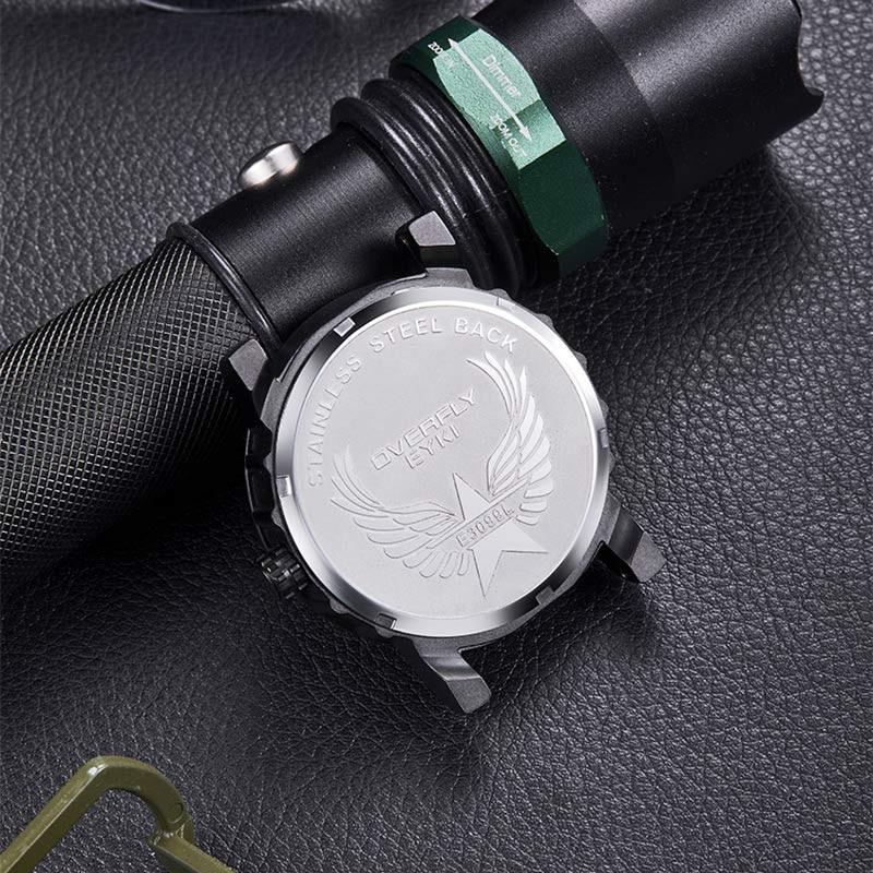 EYKI Niebieski bransoletka Zegarek biżuteria Luksusowy biznes Prosty - Męskie zegarki - Zdjęcie 5